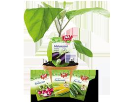 Bio-Gartenprodukte