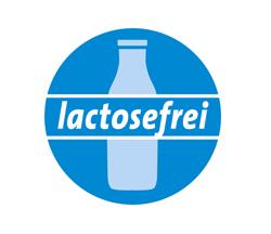 Lactosefreie Bio-Produkte lt. Rezeptur