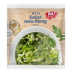 Essfertige Bio-Salate