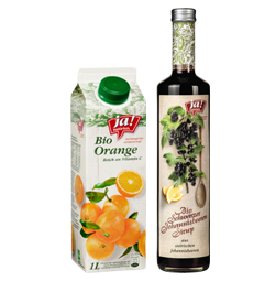 Alkoholfreie Bio-Getränke