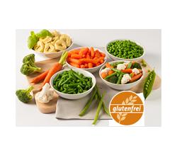 Glutenfreie Bio-Fertiggerichte & Bio-Tiefkühlprodukte