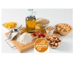 Glutenfreie Bio-Grundnahrungsmittel