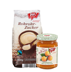 Bio-Brotaufstriche, Bio-Apfelmus & Bio-Süßungsmittel