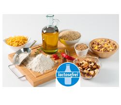 Laktosefreie Bio-Grundnahrungsmittel