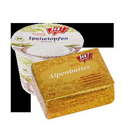 Butter, Rahm & Topfen