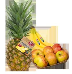 Frisches Bio-Obst
