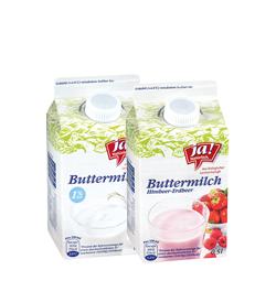 Bio-Butter- und Bio-Sauermilch