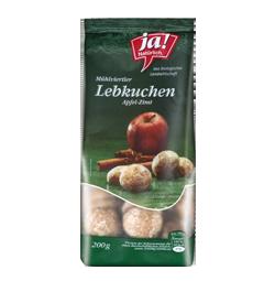 Bio-Lebkuchen Apfel-Zimt