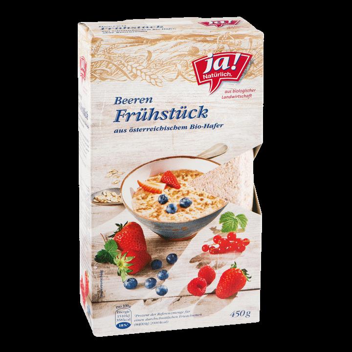 Bio-Beeren Frühstück