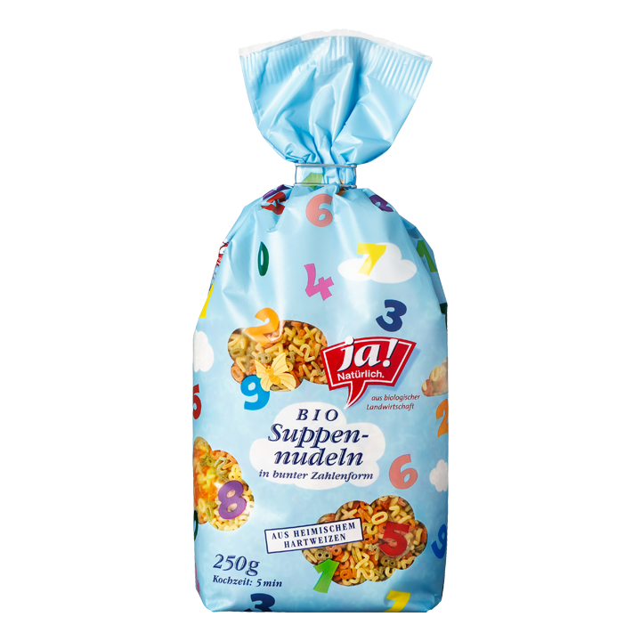 Bunte Suppennudeln 250g