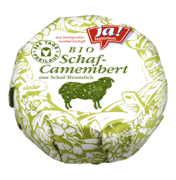Bio-Schafmilch Camembert