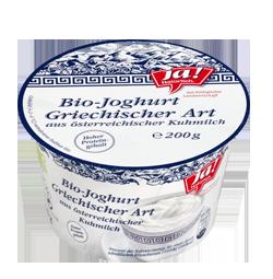 Bio-Joghurt griechischer Art