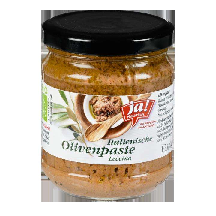 Olivenpaste Aus Oliven Der Sorte