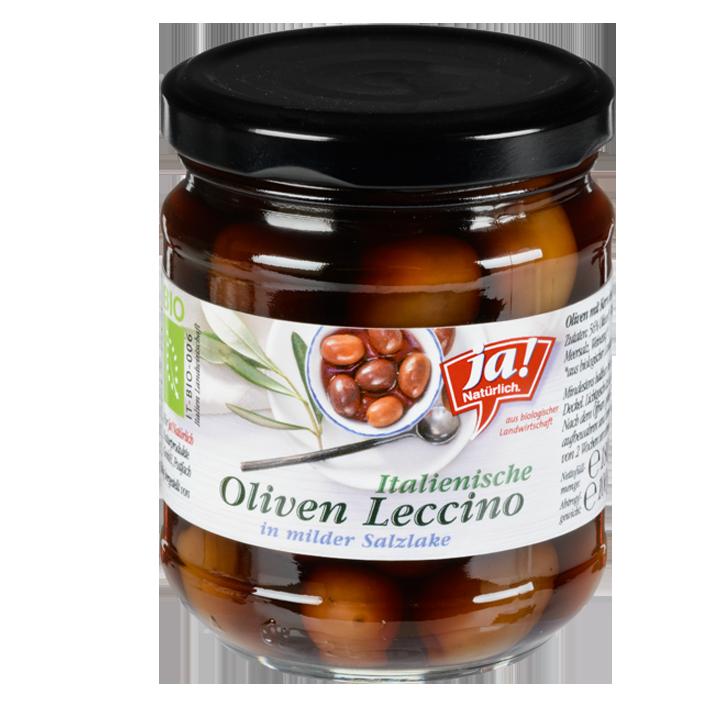 Leccino-Oliven In Salzlake 100g