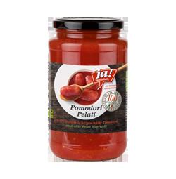 Bio-Tomaten geschält