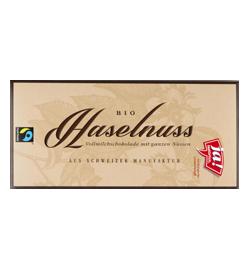 Vollmilchschokolade Mit Ganzen Haselnüssen 100g