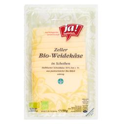 Zeller Weidekäse Scheiben 50% F.I.T. 150g