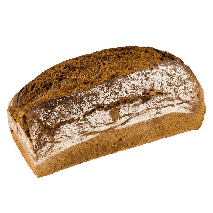 Bio-Roggen pur Brot