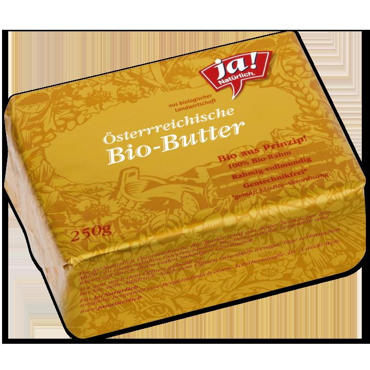 Österreichische Bio-Butter