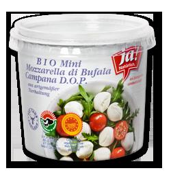 Mini Bio-Büffelmozzarella