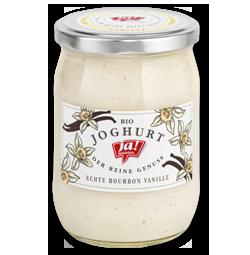 Bio-Fruchtjoghurt Vanille im Glas