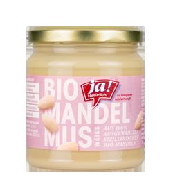 Bio-Mandelmus weiß
