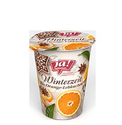 Winterzeit Lebkuchen-Orange