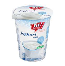 Naturjoghurt 1% Fett 200g