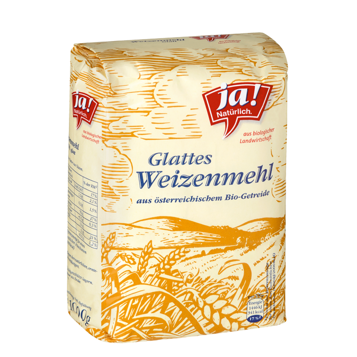 Weizenmehl Glatt