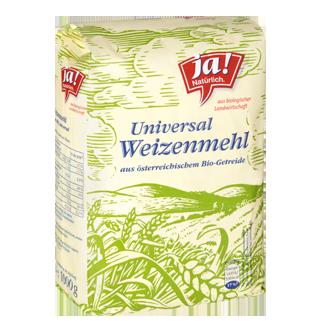 Weizenmehl Universal Type 480 1kg
