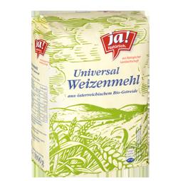 Bio-Weizenmehl universal, Type 480