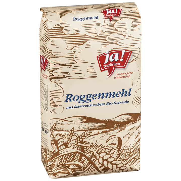 Bio-Roggenmehl Type 960