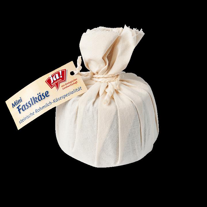 Bio-Rohmilch Fasslkäse