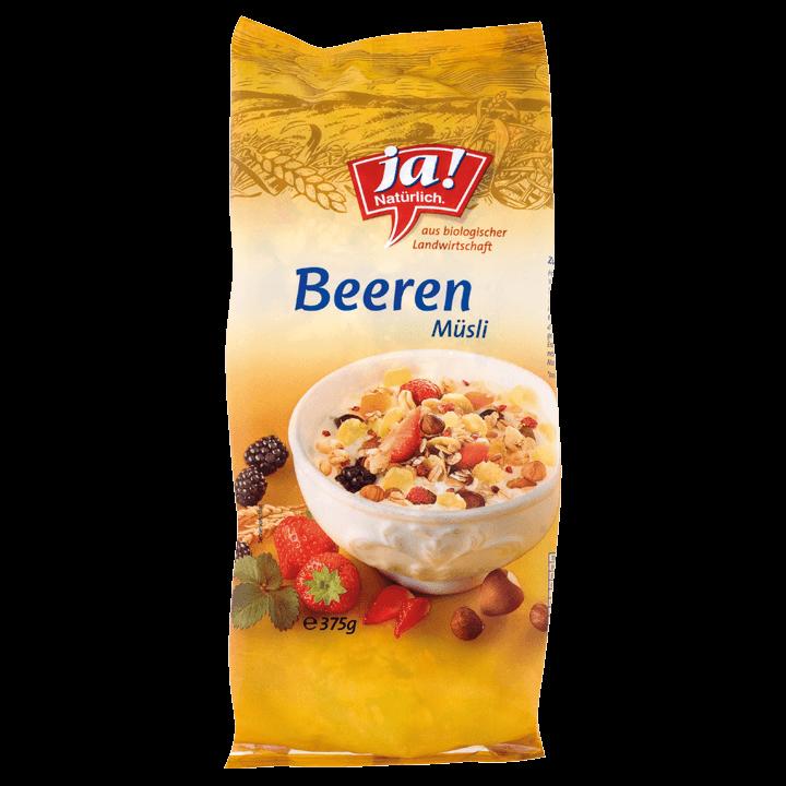 Bio-Beeren Müsli