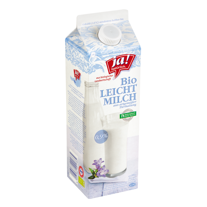 Bio-Leichtmilch Aus Artgemäßer Tierhaltung 1l
