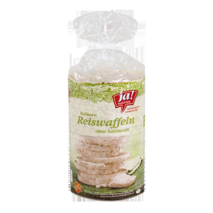 Bio-Reiswaffeln ohne Salz
