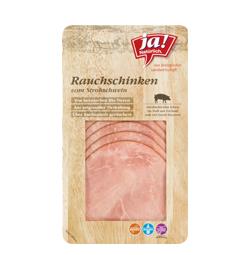 Bio-Rauchschinken vom Strohschwein in Scheiben