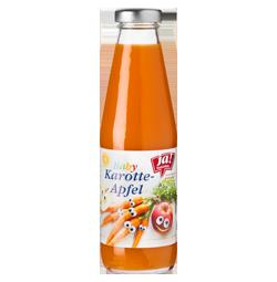 Bio-Karotten-Apfel Saft