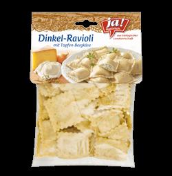 Dinkel Ravioli Mit Topfen Und Bergkäse 230g
