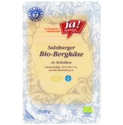 Bio-Bergkäse Scheiben 150 g