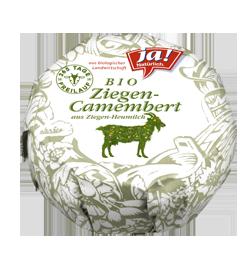 Bio-Ziegenheumilch Camembert