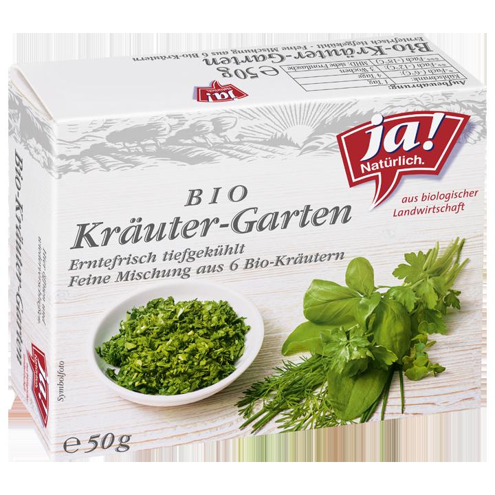 Bio-Kräutergarten