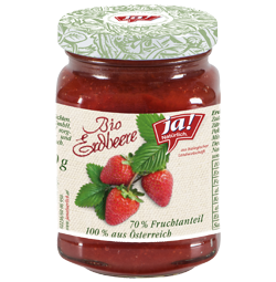 Fruchtaufstrich Erdbeer 250g