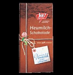 Heumilchschokolade Natur 80g