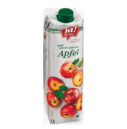 Apfelsaft Klar Direkt Gepresst 1l