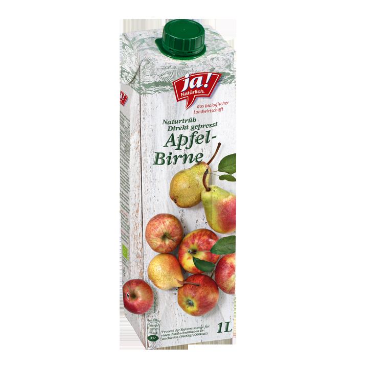 Apfel-Birnensaft Direkt Gepresst 1lt