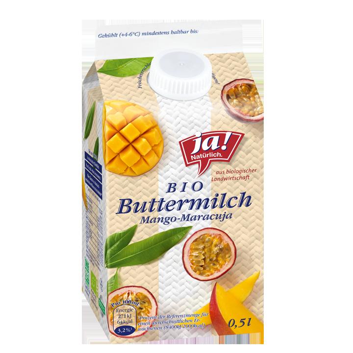 Buttermilch Mango Maracuja 0.5lt