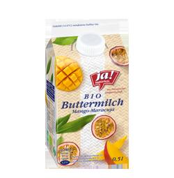 Bio-Buttermilch Mango Maracuja