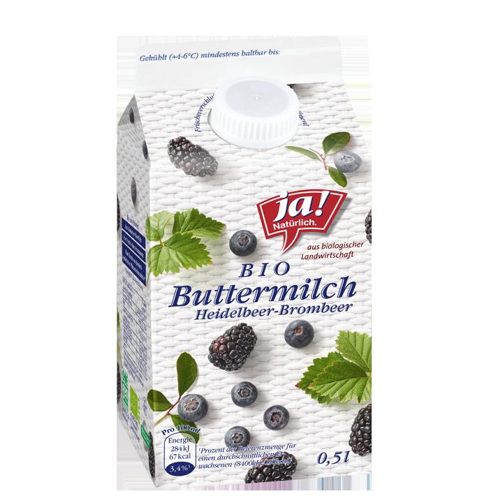 Buttermilch Heidelbeer Brombeer 0.5lt