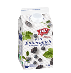 Bio-Buttermilch Heidelbeer Brombeer